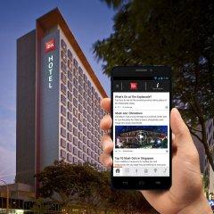 Отель ibis Singapore On Bencoolen городской автобус