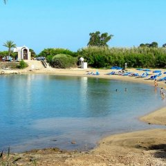 Отель Marilena Villa пляж