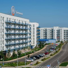 Апарт-отель Имеретинский —Прибрежный квартал Сочи парковка