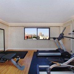 Miyako Hotel Los Angeles фитнесс-зал