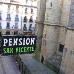 Отель Pensión San Vicente Испания, Сан-Себастьян - отзывы, цены и фото номеров - забронировать отель Pensión San Vicente онлайн балкон