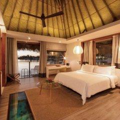 Отель Tahiti Ia Ora Beach Resort - Managed by Sofitel Французская Полинезия, Пунаауиа - отзывы, цены и фото номеров - забронировать отель Tahiti Ia Ora Beach Resort - Managed by Sofitel онлайн комната для гостей фото 4