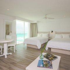 Отель Oleo Cancun Playa All Inclusive Boutique Resort комната для гостей фото 5