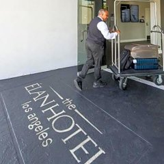Elan Hotel фитнесс-зал