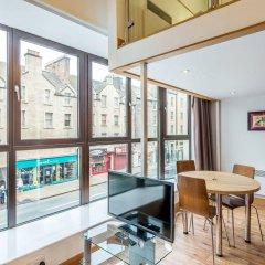 Апартаменты Richmond Place Apartments Эдинбург комната для гостей фото 3