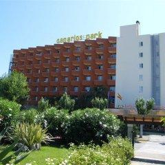 Отель HSM Canarios Park парковка