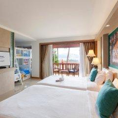 Отель Novotel Phuket Resort 4* Семейный номер Делюкс с 2 отдельными кроватями