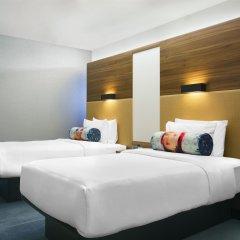 Отель Aloft Brussels Schuman Бельгия, Брюссель - 2 отзыва об отеле, цены и фото номеров - забронировать отель Aloft Brussels Schuman онлайн комната для гостей фото 3