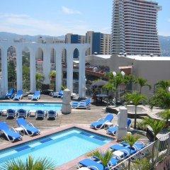 Отель Sirenas Express Acapulco бассейн фото 2