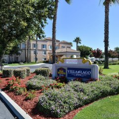 Отель Best Western PLUS Villa del Lago Inn парковка
