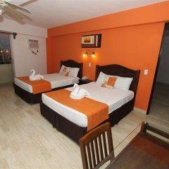 Отель Calypso Hotel Cancun Мексика, Канкун - отзывы, цены и фото номеров - забронировать отель Calypso Hotel Cancun онлайн комната для гостей фото 2