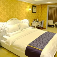 Отель GreenTree Inn ShanXi Xi'An Longshouyuan Metro Station Express Hotel Китай, Сиань - отзывы, цены и фото номеров - забронировать отель GreenTree Inn ShanXi Xi'An Longshouyuan Metro Station Express Hotel онлайн комната для гостей фото 3