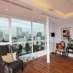 Апартаменты Montara Serviced Apartment Thonglor 25 Бангкок балкон