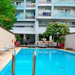 Отель Aquamare Hotel Греция, Родос - отзывы, цены и фото номеров - забронировать отель Aquamare Hotel онлайн бассейн