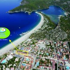 Tonoz Beach Турция, Олудениз - 2 отзыва об отеле, цены и фото номеров - забронировать отель Tonoz Beach онлайн пляж