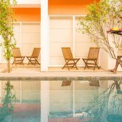 Hotel J Unawatuna бассейн