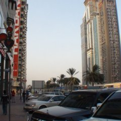 Отель Four Points by Sheraton Sheikh Zayed Road, Dubai Дубай парковка