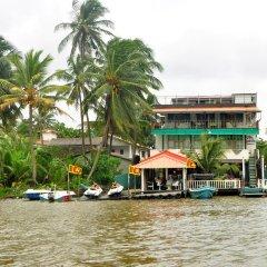 Отель Luthmin River View Hotel Шри-Ланка, Бентота - отзывы, цены и фото номеров - забронировать отель Luthmin River View Hotel онлайн приотельная территория фото 2