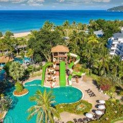 Отель Thavorn Palm Beach Resort Phuket Таиланд, Пхукет - 10 отзывов об отеле, цены и фото номеров - забронировать отель Thavorn Palm Beach Resort Phuket онлайн бассейн