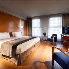 Отель Exe Plaza Испания, Мадрид - отзывы, цены и фото номеров - забронировать отель Exe Plaza онлайн комната для гостей