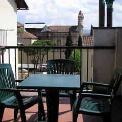 Отель Residenza Sangallo Италия, Флоренция - отзывы, цены и фото номеров - забронировать отель Residenza Sangallo онлайн балкон фото 2
