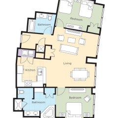 Отель Wyndham Desert Blue США, Лас-Вегас - отзывы, цены и фото номеров - забронировать отель Wyndham Desert Blue онлайн питание