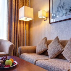 Гостиница Аэростар комната для гостей фото 3