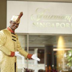 Отель Fairmont Singapore Сингапур интерьер отеля