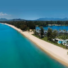 Отель Outrigger Laguna Phuket Beach Resort пляж фото 2