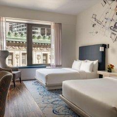 Отель Andaz Wall Street - A Hyatt Hotel США, Нью-Йорк - отзывы, цены и фото номеров - забронировать отель Andaz Wall Street - A Hyatt Hotel онлайн комната для гостей фото 2