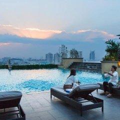 Отель Grand Four Wings Convention Бангкок бассейн фото 3
