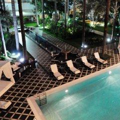 Отель Hôtel la Tour Hassan Palace Марокко, Рабат - отзывы, цены и фото номеров - забронировать отель Hôtel la Tour Hassan Palace онлайн бассейн