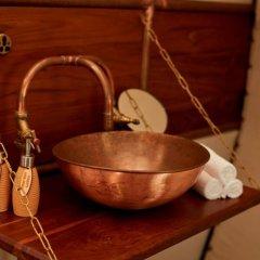 Отель Wild Coast Tented Lodge - All Inclusive Шри-Ланка, Тиссамахарама - отзывы, цены и фото номеров - забронировать отель Wild Coast Tented Lodge - All Inclusive онлайн ванная