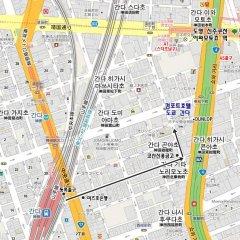 Comfort Hotel Tokyo Kanda спортивное сооружение