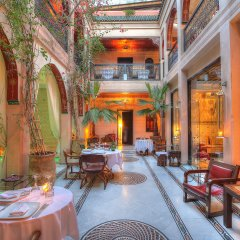 Отель Dar Anika Марокко, Марракеш - отзывы, цены и фото номеров - забронировать отель Dar Anika онлайн интерьер отеля фото 2