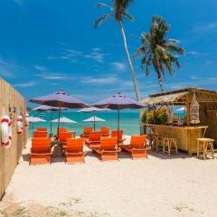 Отель Bandara Phuket Beach Resort пляж фото 2