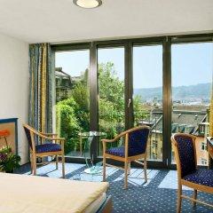 Отель Royal Hotel Zurich Швейцария, Цюрих - 3 отзыва об отеле, цены и фото номеров - забронировать отель Royal Hotel Zurich онлайн балкон