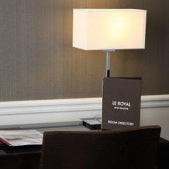 Отель Royal Montparnasse Париж сейф в номере