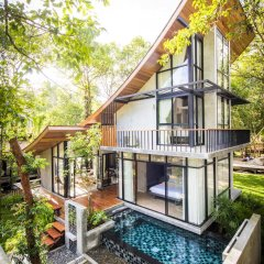Отель Villa Thalanena Таиланд, Краби - отзывы, цены и фото номеров - забронировать отель Villa Thalanena онлайн балкон