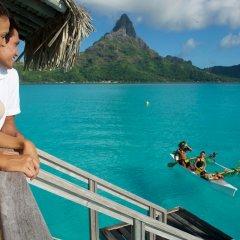 Отель InterContinental Bora Bora Resort and Thalasso Spa балкон
