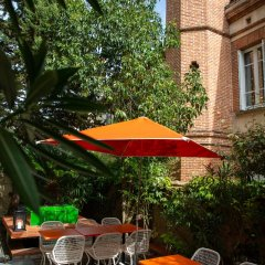 Отель Privilège Hôtel Mermoz Франция, Тулуза - отзывы, цены и фото номеров - забронировать отель Privilège Hôtel Mermoz онлайн городской автобус