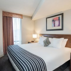 Отель Sandman Suites Vancouver on Davie Канада, Ванкувер - отзывы, цены и фото номеров - забронировать отель Sandman Suites Vancouver on Davie онлайн комната для гостей фото 4