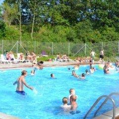 Отель MØrkholt Strand Camping & Cottages Боркоп бассейн