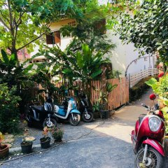 Отель Kantiang Oasis Resort & Spa парковка