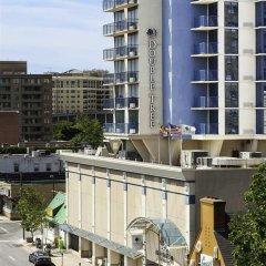 Отель DoubleTree by Hilton Bethesda - Washington D.C. США, Бетесда - отзывы, цены и фото номеров - забронировать отель DoubleTree by Hilton Bethesda - Washington D.C. онлайн балкон