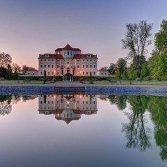 Chateau Hotel Liblice Либлице приотельная территория