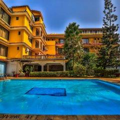 Отель OYO 14036 Calangute Гоа бассейн