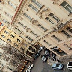 Отель Central and calm Прага вид на фасад фото 2