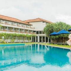 Отель The Blue Water бассейн