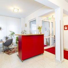 Отель Residenz Donaucity Австрия, Вена - отзывы, цены и фото номеров - забронировать отель Residenz Donaucity онлайн интерьер отеля